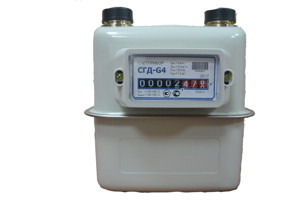 Бытовые и коммунально-бытовые счетчики газа