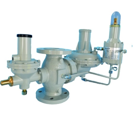 Регулятор давления с предохранительно- запорным клапаном 131-BV